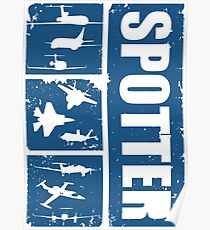 Aircraft spotters Poster