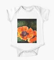 Oriental Poppies family Kids Clothes