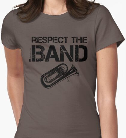 Respect The Band - Baritone (Black Lettering) T-Shirt