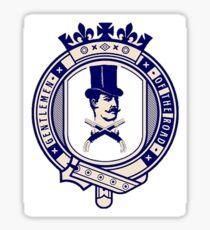 Gentlemen of the Road Sticker