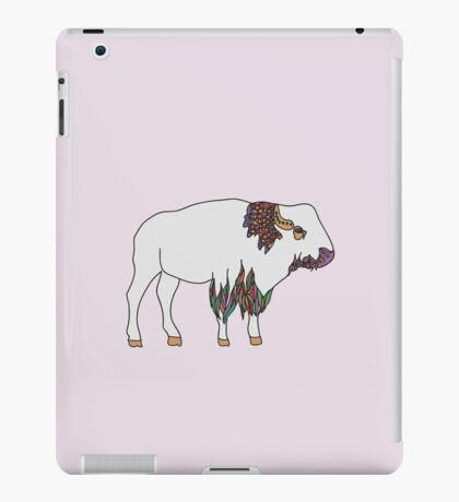 This is Bison iPad Case/Skin