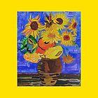 Van Gogh's Sunflowers by Carla by Latrobe Lifeskills