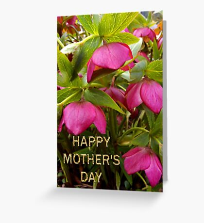 little boss's mom's day card Greeting Card