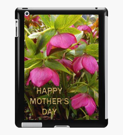 little boss's mom's day card iPad Case/Skin