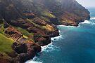 Open Ceiling Sea Cave - Kauai by Michael Treloar