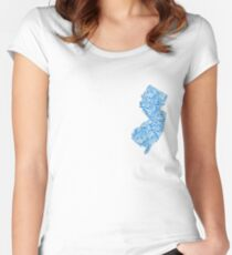 New Jersey Waves Women's Fitted Scoop T-Shirt