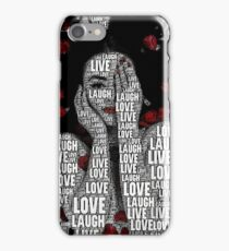 LiveLoveLaugh iPhone Case/Skin