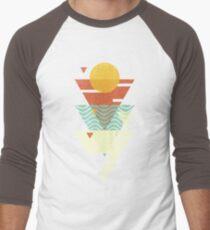 Sun. Sea. Sand. Shark. Men's Baseball ¾ T-Shirt