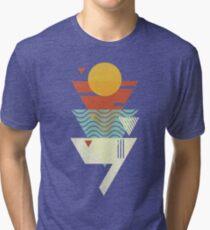 Sun. Sea. Sand. Shark. Tri-blend T-Shirt