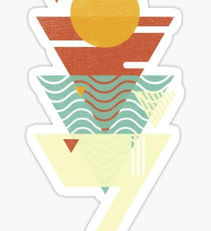 Sun. Sea. Sand. Shark. Sticker