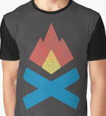 Campfire Graphic T-Shirt