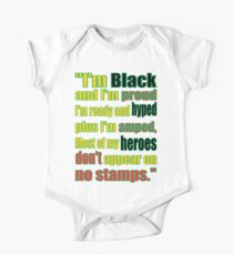 BLACK HEROES, NO STAMPS Kids Clothes
