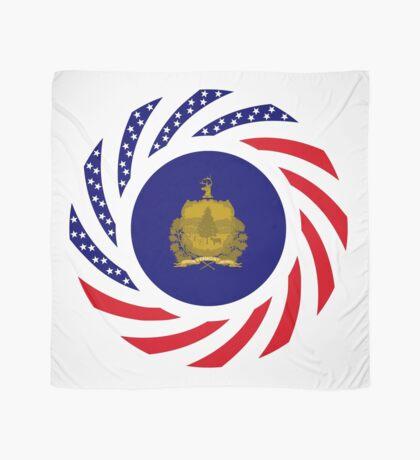 Vermont Murican Patriot Flag Series Scarf