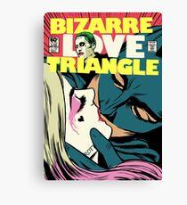 Bizarre Love Triangle | Squad Edition Canvas Print