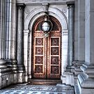 0672 Victorian Doorway by DavidsArt
