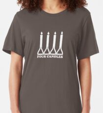 Four Candles Slim Fit T-Shirt