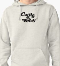 Curds & Whey (Black) Pullover Hoodie