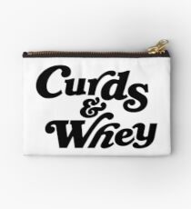Curds & Whey (Black) Studio Pouch