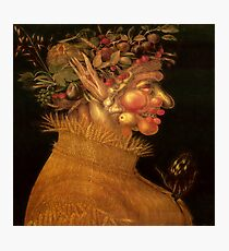 Summer - Painting from Giuseppe Arcimboldo, Public Domain Photographic Print