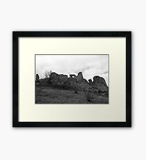 A Travel To The Past Framed Print
