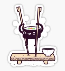 Sushi Stilts  Sticker