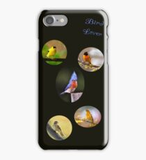 Bird lover iPhone Case/Skin