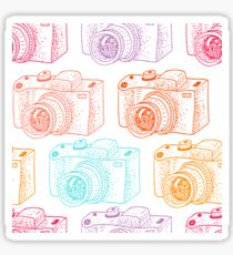 Colored cameras  Sticker