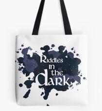 Riddles in the Dark Tote Bag
