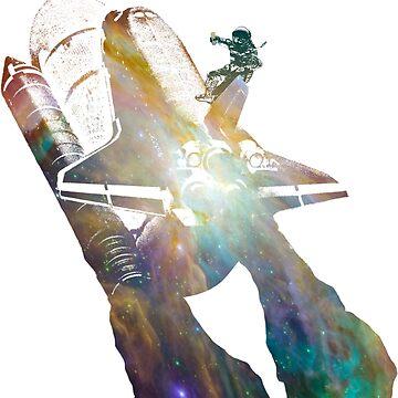 Rocket Surfer  by superfurrygeth