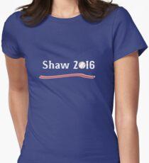 Vote Travis Shaw 2016! Women's Fitted T-Shirt