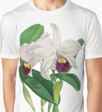 Vintage - TIR-Flower-Orchid-2 Graphic T-Shirt