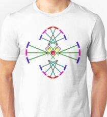 Croquet - Mallets,Balls and Hoops Design T-Shirt