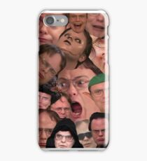 The majesty of Dwight K Schrute  iPhone Case/Skin
