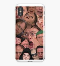 The majesty of Dwight K Schrute  iPhone Case