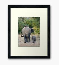 Well Child, Its Like This.... Framed Print