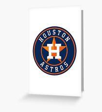 houston astros logo 2017 Greeting Card