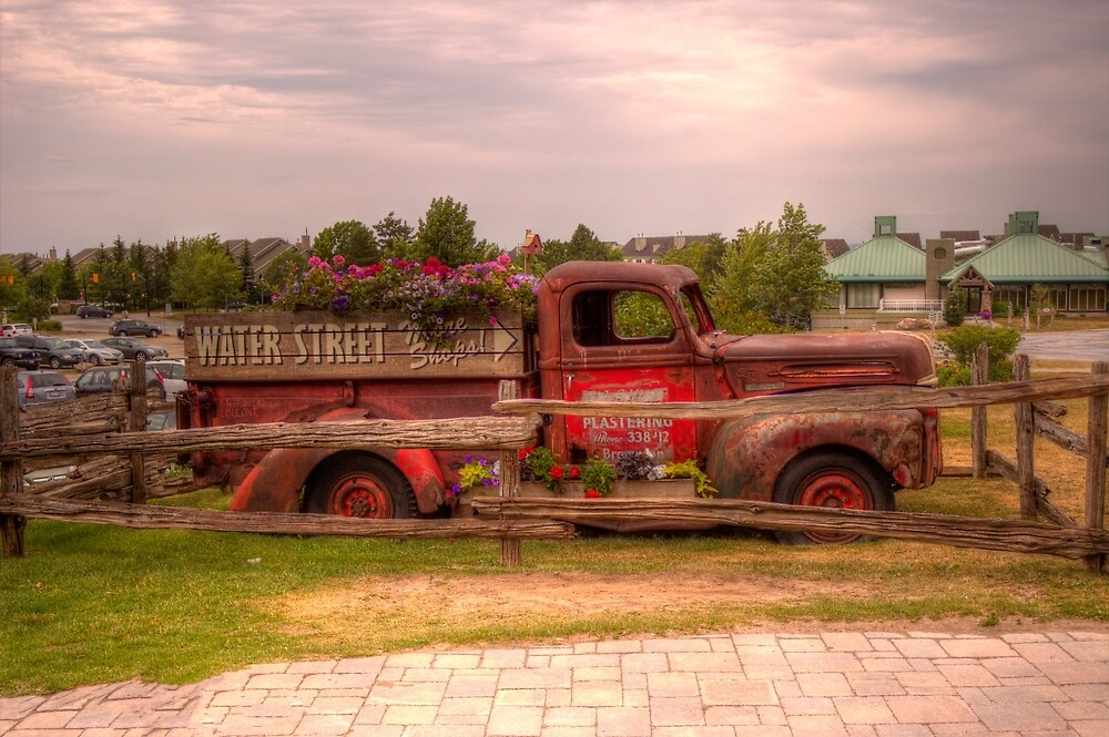 Antique pickup truck at Blue Mountain 2 by John Velocci
