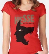 Hermann Hesse Women's Fitted Scoop T-Shirt