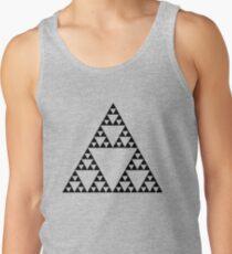 Sierpinski Triangle Fractal Math Art Tank Top