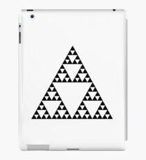 Sierpinski Triangle Fractal Math Art iPad Case/Skin