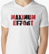 Maximum Effort Men's V-Neck T-Shirt