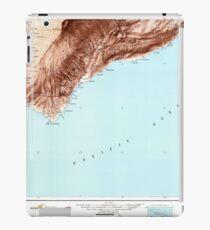USGS TOPO Map Hawaii HI Hawaii South 349924 1961 250000 iPad Case/Skin