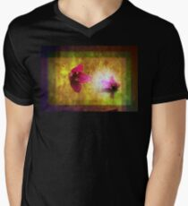 marriage of Titania; Salmon berry floral duet T-Shirt