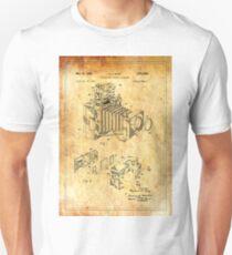 Patent Image - Camera 1 - Ancient Canvas Unisex T-Shirt