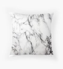 Marble Designs Throw Pillow
