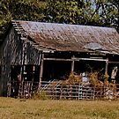 """""""Old Timer's Barn (colored version)""""... prints and products by © Bob Hall"""