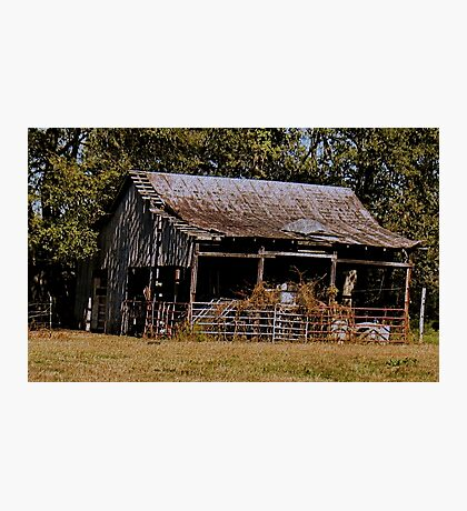 """""""Old Timer's Barn (colored version)""""... prints and products Photographic Print"""