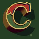 December Green - Letter C by Carter & Rickard