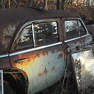 Ran out of Gas!  Abandoned car. by Billlee