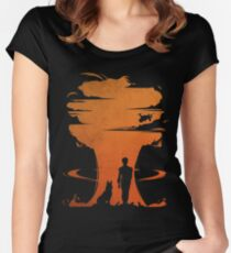 Nuclear war Women's Fitted Scoop T-Shirt